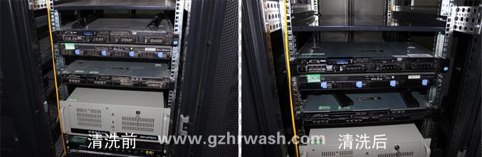 服务器内部的电路板清洗